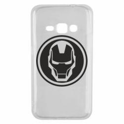 Чохол для Samsung J1 2016 Iron man symbol