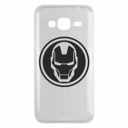 Чохол для Samsung J3 2016 Iron man symbol