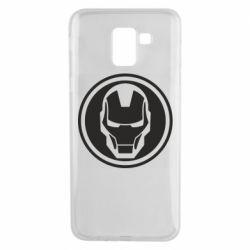 Чохол для Samsung J6 Iron man symbol