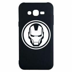 Чохол для Samsung J7 2015 Iron man symbol