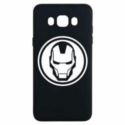 Чохол для Samsung J7 2016 Iron man symbol
