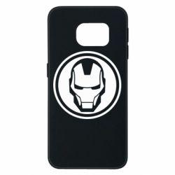 Чохол для Samsung S6 EDGE Iron man symbol