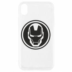 Чохол для iPhone XR Iron man symbol