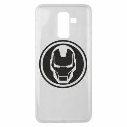 Чохол для Samsung J8 2018 Iron man symbol