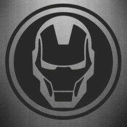 Наклейка Iron man symbol