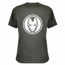 Камуфляжна футболка Iron man symbol