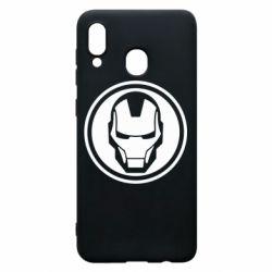 Чохол для Samsung A20 Iron man symbol