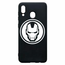 Чохол для Samsung A30 Iron man symbol