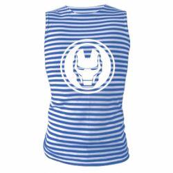Майка-тільняшка Iron man symbol
