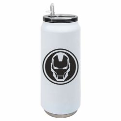 Термобанка 500ml Iron man symbol