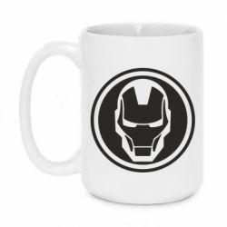 Кружка 420ml Iron man symbol