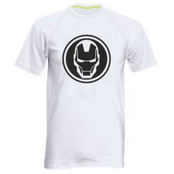 Чоловіча спортивна футболка Iron man symbol
