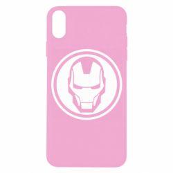 Чохол для iPhone X/Xs Iron man symbol