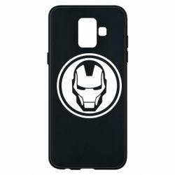 Чохол для Samsung A6 2018 Iron man symbol