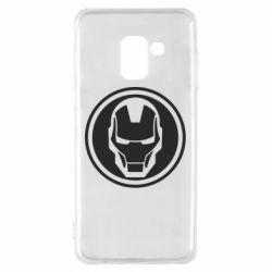Чохол для Samsung A8 2018 Iron man symbol