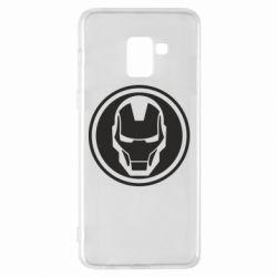 Чохол для Samsung A8+ 2018 Iron man symbol