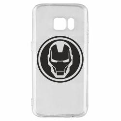 Чохол для Samsung S7 Iron man symbol