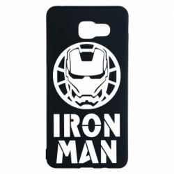 Чохол для Samsung A5 2016 Iron man text