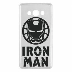 Чохол для Samsung A7 2015 Iron man text