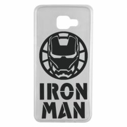 Чохол для Samsung A7 2016 Iron man text