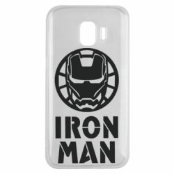 Чохол для Samsung J2 2018 Iron man text