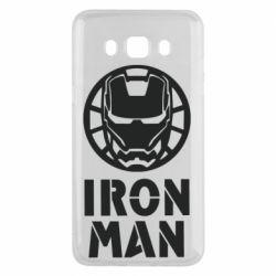 Чохол для Samsung J5 2016 Iron man text
