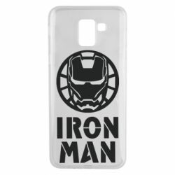 Чохол для Samsung J6 Iron man text