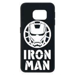 Чохол для Samsung S6 EDGE Iron man text