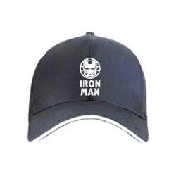 Кепка Iron man text