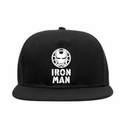 Снепбек Iron man text