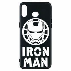 Чохол для Samsung A6s Iron man text