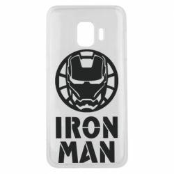 Чохол для Samsung J2 Core Iron man text