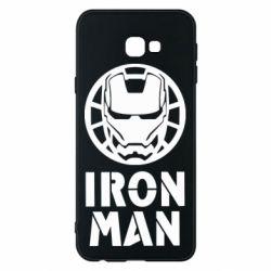Чохол для Samsung J4 Plus 2018 Iron man text