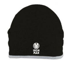 Шапка Iron man text