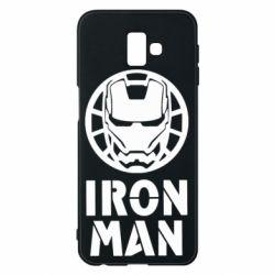 Чохол для Samsung J6 Plus 2018 Iron man text