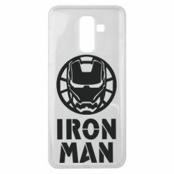 Чохол для Samsung J8 2018 Iron man text