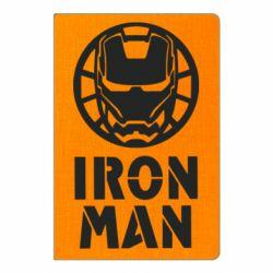 Блокнот А5 Iron man text