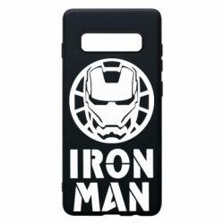 Чохол для Samsung S10+ Iron man text