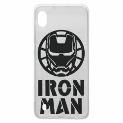 Чохол для Samsung A10 Iron man text
