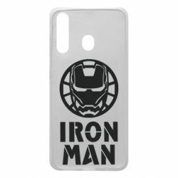 Чохол для Samsung A60 Iron man text