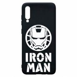 Чохол для Samsung A70 Iron man text