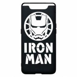 Чохол для Samsung A80 Iron man text