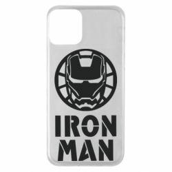 Чохол для iPhone 11 Iron man text