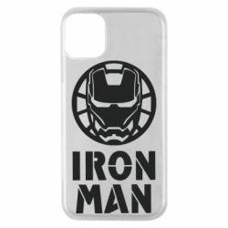 Чохол для iPhone 11 Pro Iron man text