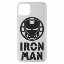 Чохол для iPhone 11 Pro Max Iron man text