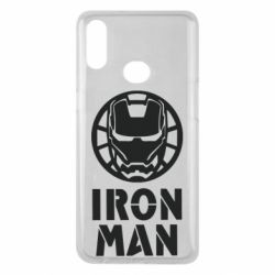 Чохол для Samsung A10s Iron man text