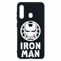 Чохол для Samsung M40 Iron man text
