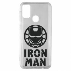 Чохол для Samsung M30s Iron man text
