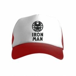 Дитяча кепка-тракер Iron man text