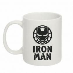 Кружка 320ml Iron man text